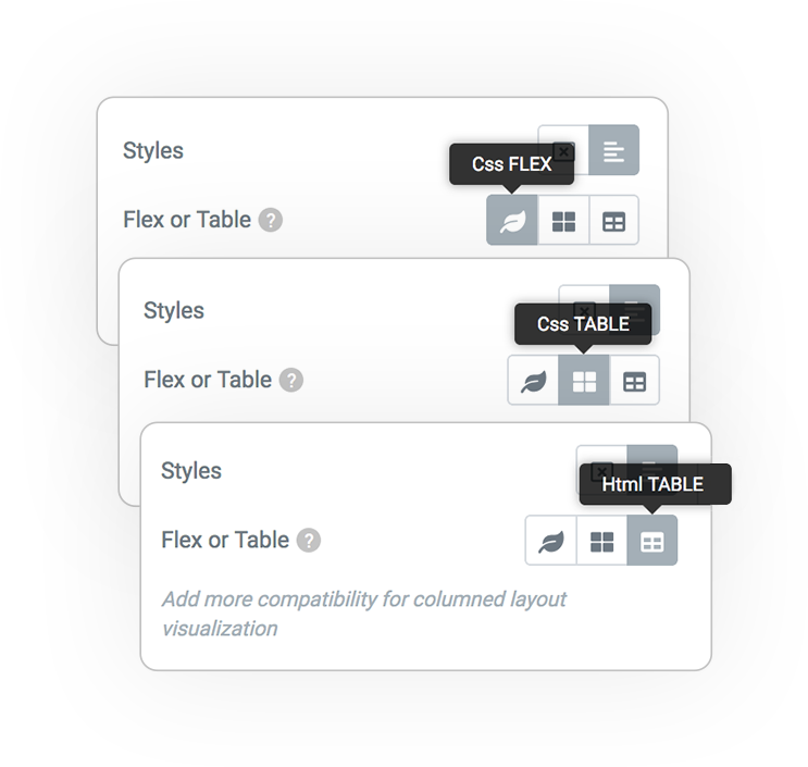 Pro Form ACTIONS Email Styles