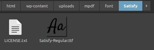 extra font