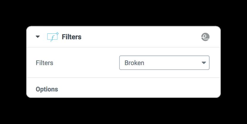 filters broken
