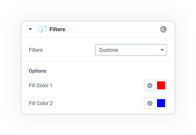 filters duotone