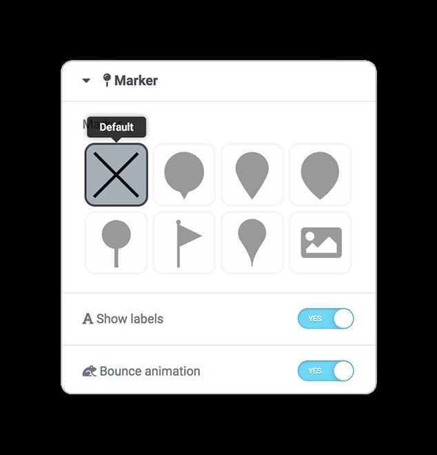mapsLocator marker default