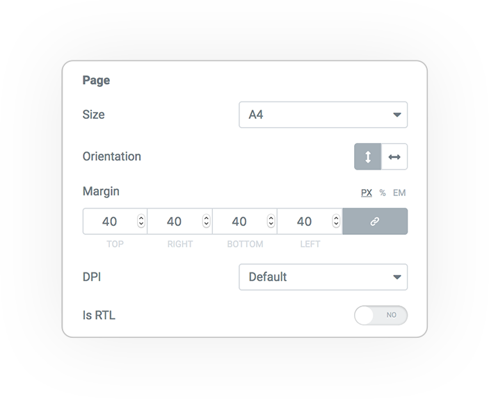 pdf proForm action page