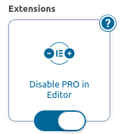remove pro ads form editor free
