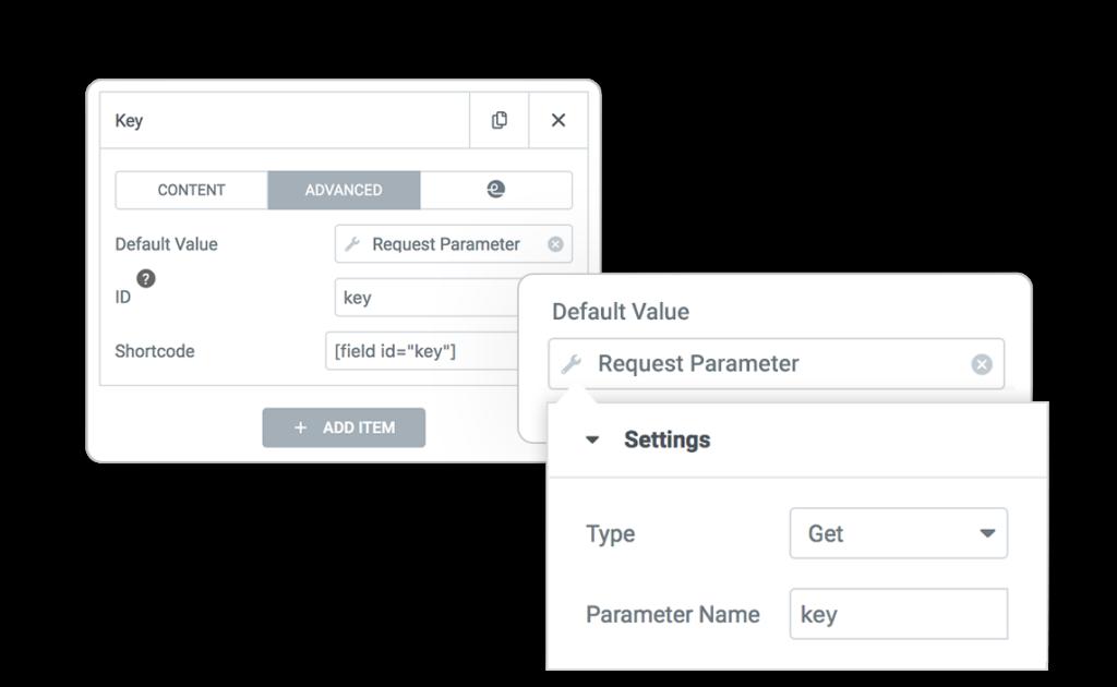 Pro Form ACTIONS LostPassword reset key