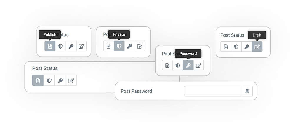 Pro Form ACTIONS Save post STATUS
