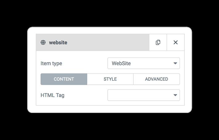 Query ITEMS website
