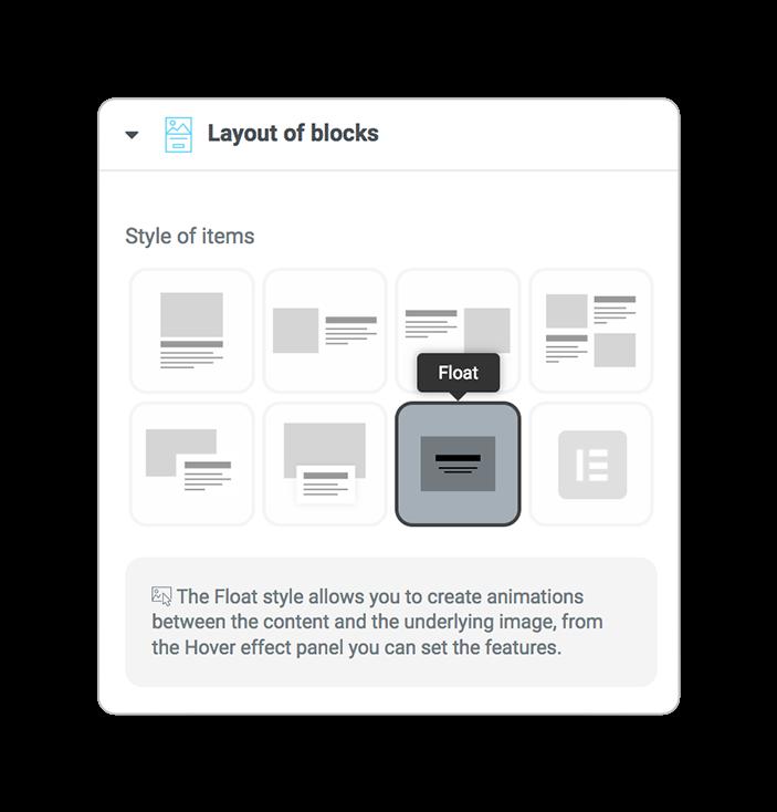 layoutsofblocks FLOAT