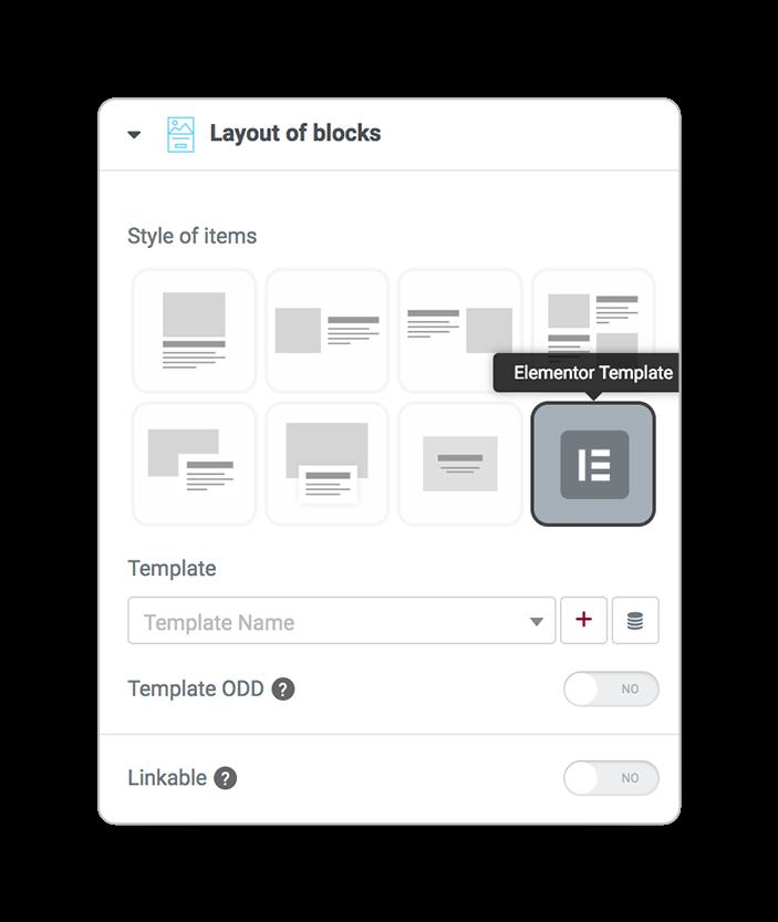 layoutsofblocks template