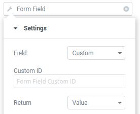 form dynamic tag custom