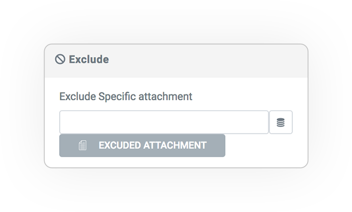 query type exclude 1