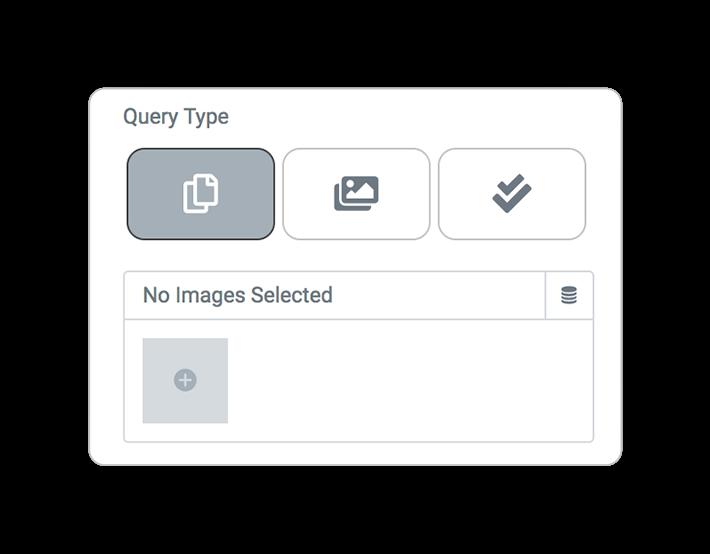 query type specific attachment