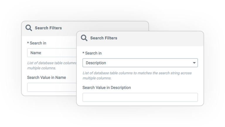 term query filter SEARCH