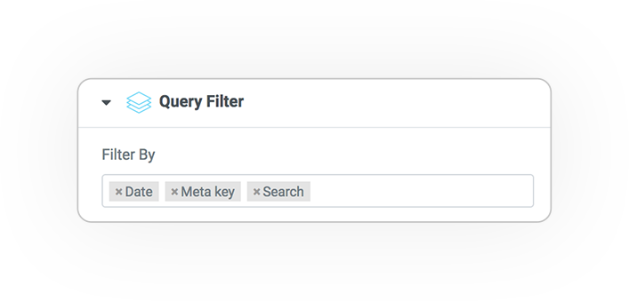 user query filter 1
