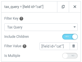 form action query posts filter tax args