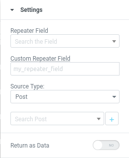 elementor dynamic tag repeater